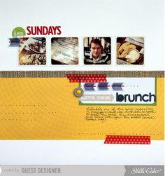 November 2012 kit  Sunday Brunch by piradee at Studio Calico
