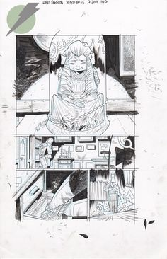 Felix Comic Art :: For Sale Artwork :: B.P.R.D. by artist James Harren