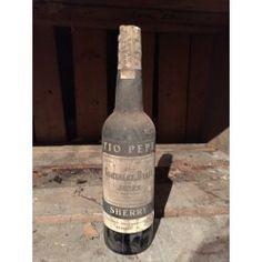 Sherry Tio Pepe 1990s - 2000s Tio Pepe, 2000s, Spirit, Antiques, Bottle, Home Decor, Corning Glass, Antiquities, Antique