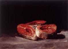 Three Salmon Steaks - Goya