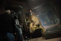 Doctor Who 7x02 - Dinosaurs on a Spaceship - Behind the Scenes