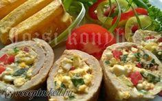 Érdekel a receptje? Kattints a képre! Baked Potato, Pork, Potatoes, Baking, Ethnic Recipes, Holiday, Kale Stir Fry, Vacations, Potato