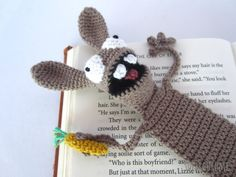 Amigurumi Bunny Bookmark crochet pattern by Supergurumi