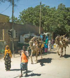 Dire Dawa, Ethiopia - I live near here, up the mountain at Alemya.