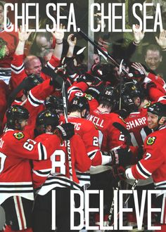 Yes! Go Blackhawks!