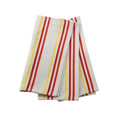 Features:  -Set of 3 dish cloths.  -Material: 100% Cotton.  Product Type: -Dishcloth.  Design: -Striped/Patterned.  Texture: -Waffle.  Material: -Cotton. Color Cerise -  Color: -Cerise. Dimensions:  O