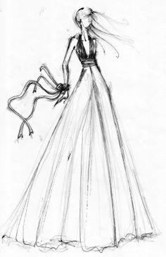 Pensándolo - Dibujo de Celia Vela 2013 Feliz fin de semana!