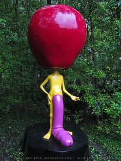 Paul McCarthy - Apple Heads - Photograph Copyright 2010 by J R Compton.