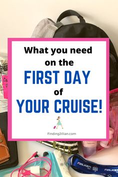 Everything you need to know about cruise embarkation day and what you need to have with you! Cruise carry on. Top Cruise, Best Cruise, Cruise Port, Cruise Travel, Cruise Vacation, Vacations, Cruise Reviews, Travel Reviews, Packing List For Cruise