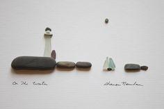 pebbles art - Buscar con Google