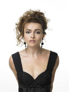 There is no denying that actress Helena Bonham Carter is a uniquely beautiful lady. Helena Bonham Carter, Helena Carter, Helen Bonham, English Actresses, British Actresses, Actors & Actresses, Tim Burton, Marla Singer, Ella Enchanted