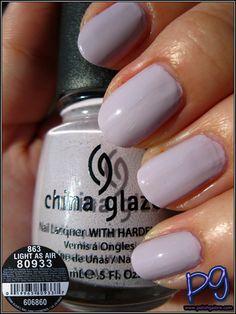 Polish Galore: China Glaze Light As Air