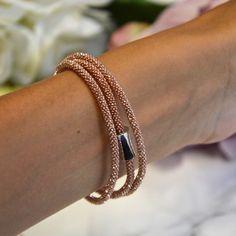 REFLEX TRIPLE, couleur or rose - Bracelet Dalia Joaillerie #MyDalia
