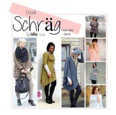 Nähanleitungen Mode - Ebook SCHRÄG- Poncho, Kleid, Oberteil - ein Designerstück von Lilabrombeerwoelkchen bei DaWanda