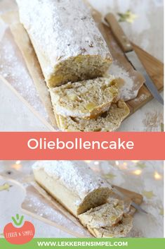 Oliebollen Cake - Surprise friends and family with this delicious oliebollen cake. Baking Recipes, Cookie Recipes, Rumchata Recipes, Brunch, Sweet Pie, Sweets Cake, Happy Foods, How To Make Cake, Love Food