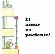 Love is patient Words Quotes, Love Quotes, Romantic Poems, Love Thoughts, Love Is Patient, More Than Words, Spanish Quotes, All You Need Is Love, Twitter