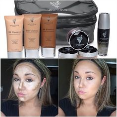 Our Highlight & Contour kit is amazing! BB Cream thats gives you 100% coverage! Also comes in 6 diffrent shades ro choose from! Love this kit! Also can be used for temporary 'Boob Job' lol #makeup#mua#makeuplover#makeupaddict#makeupartist#makeupjunkie#beauty#fashion#style#instamakeup#summer#ilovemakeup#beautycommunity#makeupgeek#shoopingaddic#summerwedding#feelspecial#wedding#boobjob#temporary#highlightandcontour#mommies#beach#motd#loveit#guarantee