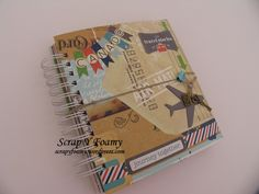 Cuaderno de Viaje o travel journal destino Canada