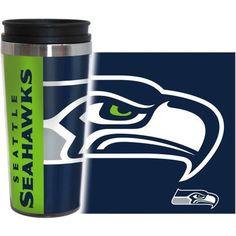NFL Seattle Seahawks 2-Pack Hype Travel Tumbler, Multicolor
