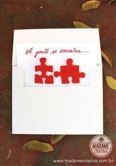 Cartões Criativos para dias dos namorados - Cartão de amor bem humorado - Madame Criativa Mais