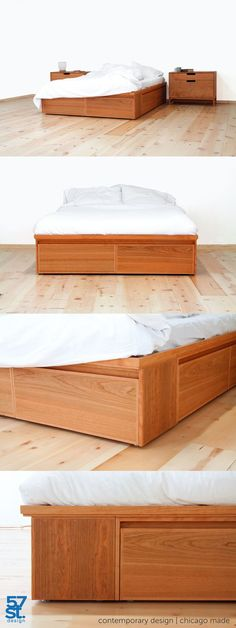 Queen Size Storage Bedroom Sets: DIY Queen Size Storage Bed... Includes Cutting Plans