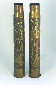 vase Made From Bullets | TRENCH ART VASES | Vases Sale