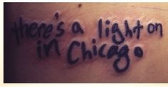 fall out boy chicago is so two years ago tattoo patrick stump handwriting