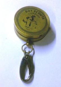 "Heritage - COMPASS - BOY SCOUT - Brass  Item 1105831912  A great piece of retro inspired memorabilia for today and tomorrow!  A beautifully crafted, brass compass with ""Boy Scouts Compass"" and ""Taylor Co. NSW"" etched in black on the front of the case. Open the lid to reveal the retro style compass inside and a Scout Oath."