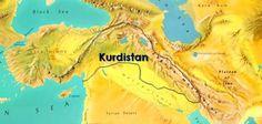 Kurdistan's Map