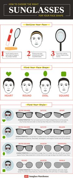 67fcfab456e How to Choose the Best Sunglasses for Your Face Shape