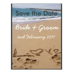Beach Wedding - Change colour to suit your theme! Custom Invites ReviewHere a great deal...