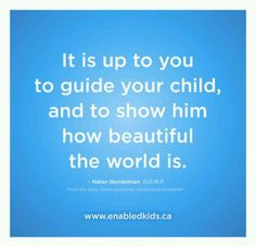 you ARE your child's best advocate, God would not leave your destiny up to me, why would you leave your child's up to someone else?