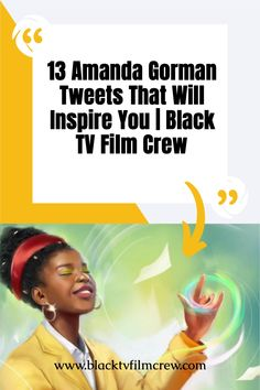 Allow these Amanda Gorman tweets to inspire you. #blackculture #poets #inauguration African American Writers, African American Culture, Books By Black Authors, Black Quotes, Black Tv, African Americans, Black Models, Black Girl Magic, Filmmaking