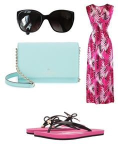 """Untitled #812"" by ednatchiwana ❤ liked on Polyvore featuring Chanel and Kate Spade"