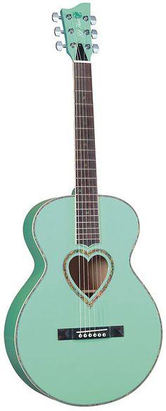 ❤ Lovely guitar ~ Jay Turser JJ-Heart ❤