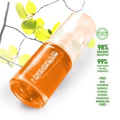 Fouka Mountain Bloom Organic Serum -Oil free- οξυγόνωση των κύτταρων για φωτεινή όψη με βιολογικό ροδόνερο, εκχυλίσματα rosehip και μπουμπουκιού οξίας 30ml - Καλλυντικά