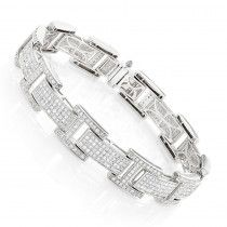 This Mens Sterling Silver Diamond Bracelet weighs approximately 20 grams and showcases ctw of pave-set round diamonds. Featuring a versatile design, this is a great budget piece featuring polished sterling silver and genuine diamonds. This mens diamo Mens Diamond Jewelry, Mens Diamond Bracelet, Sterling Silver Diamond Rings, Mens Gold Bracelets, Silver Diamonds, Gents Bracelet, Sunflower Jewelry, Bling Jewelry, Gold Jewellery