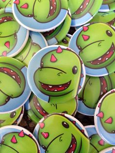 How amazing are these #buttonbadges !!!