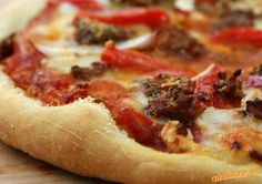 ♥ Pizza taliansky recept origoš z talianskeho vidieka ♥