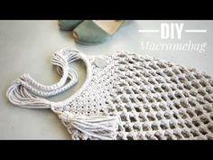 Macrame Purse, Macrame Knots, Macrame Wall Hanging Patterns, Macrame Patterns, Diy Bags Tutorial, Willow Weaving, Macrame Design, Macrame Projects, Creations