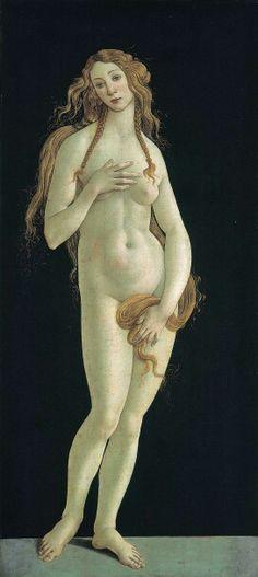 Sandro Botticelli, 1482, Venus, Galleria Sabauda
