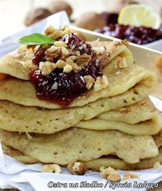 SAINT Pancakes (made from millet) - dietary, gluten-free - BE FIT! Dessert Cake Recipes, Snack Recipes, Cooking Recipes, Vegan Lunch Box, Vegan Recepies, Gluten Free Pancakes, Sin Gluten, Healthy Baking, Tasty Dishes