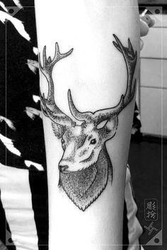 Deer Dotwork