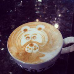 Another try. #lattebear #latte #art #coffee #love #ritazza #italian #latteart # - @hasslevall- #webstagram