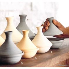 Roost Safi Stoneware Tagines