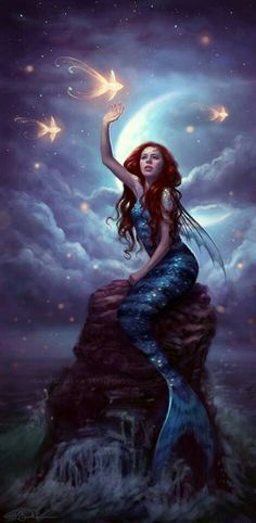 Mermaid Mermaid Artwork, Mermaid Pics, Mermaid Pictures, Siren Mermaid, Mermaid Fairy, Mermaid Style, Beautiful Mermaid, Beautiful Fish, Beautiful Artwork