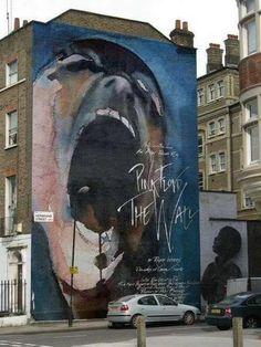 Mural creado para rendir homenaje a una de las obras musicales más importantes de los últimos tiempos