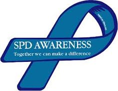 Custom Ribbon Spd Awareness Together We Can Make A Difference Purchase Or Customize This Item As Magnet Sticker Create Your Own