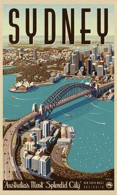 Sydney ~ The Harbour Town _____________________________ La Mer de Tasmanie