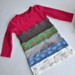 Upcycled T-Shirt Dress  http://savedbylovecreations.com/2014/06/50-plus-awesome-ways-to-upcycle-clothing.html